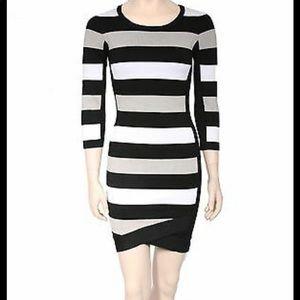 BCBGMAXAZRIA Kendall bandage dress